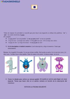 Interactive worksheet Les parties du corps