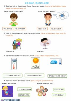 Ficha interactiva Revision of units 1 to 5
