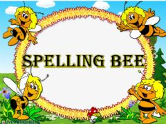 Interactive worksheet Spelling bee