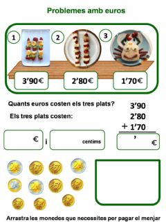 Interactive worksheet Anem de compres