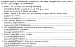Interactive worksheet Past Simple and Past Perfect