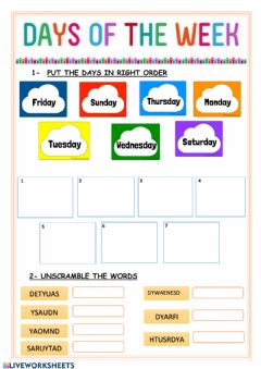 Interactive worksheet Learn with us 2 revision 2