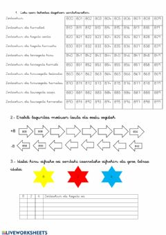 Interactive worksheet 4. Lanak 2.1