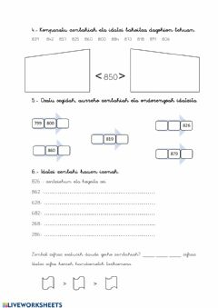 Interactive worksheet 4. Lanak 2.3