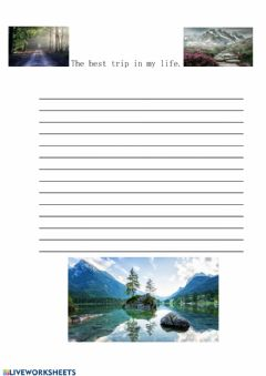 Interactive worksheet 4 level