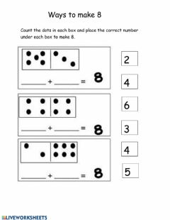 Interactive worksheet Number 8