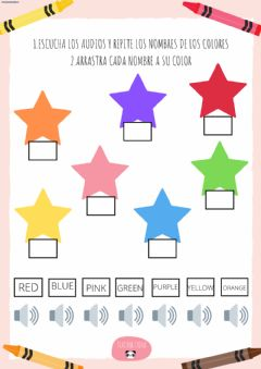 Interactive worksheet Colors2