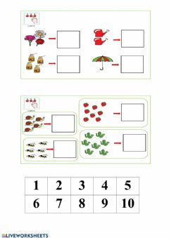 Interactive worksheet primavera 3