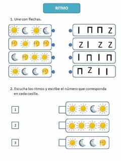 Interactive worksheet Ritmos