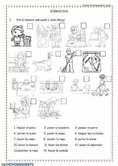 Interactive worksheet 29.04 Ejercicios