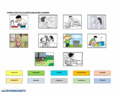 Interactive worksheet Kata Kerja Aktif Transitif