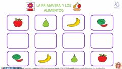 Interactive worksheet DISCRIMINACIÓN VISUAL PRIMAVERA Y ALIMENTOS - PÁGINA 5