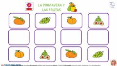 Interactive worksheet DISCRIMINACIÓN VISUAL PRIMAVERA Y ALIMENTOS - PÁGINA 6