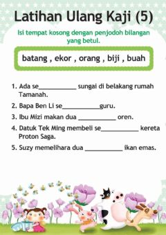 Interactive worksheet Penjodoh Bilangan