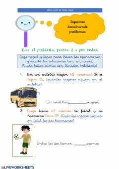 Interactive worksheet 22abril Resolución problemas IV