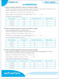 Interactive worksheet Sconto, aumento e interesse