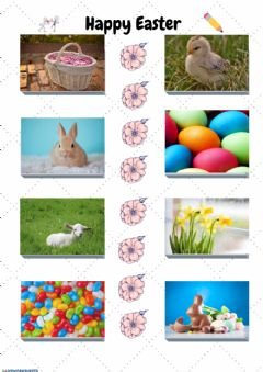 Ficha interactiva Happy Easter