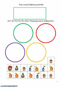 Interactive worksheet The Very Hungry Caterpillar - 4