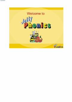 Ficha interactiva Jolly phonics group 1
