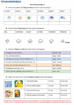 Interactive worksheet Unit 3 Review 1
