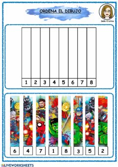 Interactive worksheet Puzzle