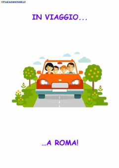 Interactive worksheet Viaggio a roma