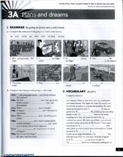 Interactive worksheet English file 3rd edition Pre-intermediate WB 3A