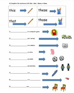 Ficha interactiva Demonstrative Pronouns