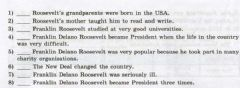 Interactive worksheet Roosevelt