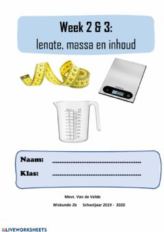 Interactive worksheet Titelblad