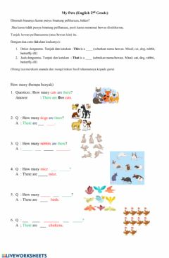 Interactive worksheet How many