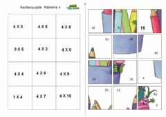 Interactive worksheet Biderketa 4 puzzle