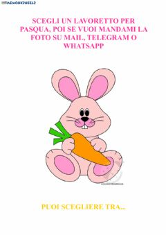 Interactive worksheet Pasqua