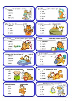 Interactive worksheet What do you usually do?