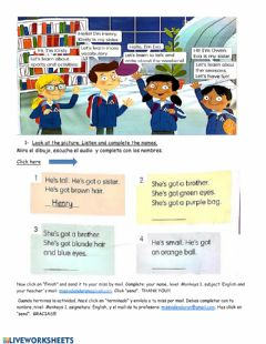 Interactive worksheet Pag 4 y 5