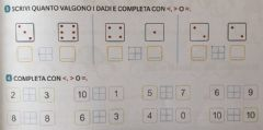 Interactive worksheet Maggiore, minore, uguale 4
