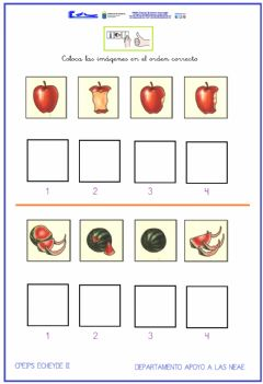 Interactive worksheet Secuencias temporales 1