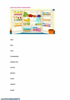 Interactive worksheet COUNTABLE OR UNCOUNTABLE