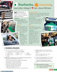 Interactive worksheet English for adults