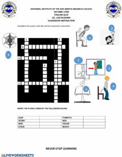 Interactive worksheet Classroom instruction