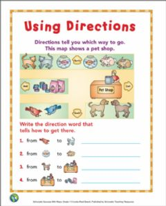 Interactive worksheet Map 2