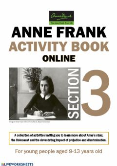 Ficha interactiva Anne Frank - Activity Book Section 3