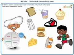Ficha interactiva DAIRY PRODUCTS - healthy food 4