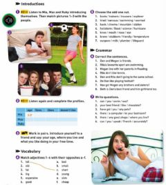 Interactive worksheet Getting to know teens