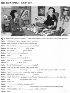 Interactive worksheet EF Elementary 6C Be or do
