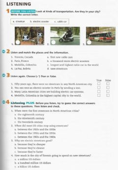 Interactive worksheet UTA p79 listening level 2