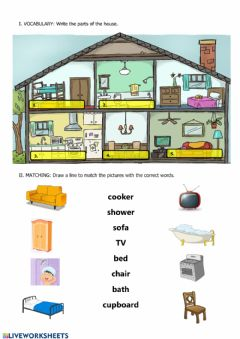 Interactive worksheet Home