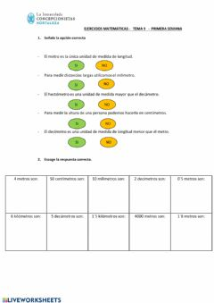 Interactive worksheet Tema 9 - ficha 1