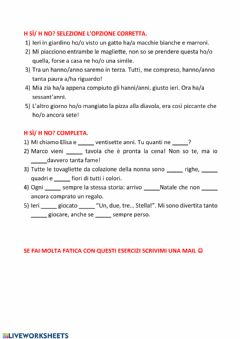 Interactive worksheet H 4-05