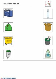Interactive worksheet Unir dibujos 2